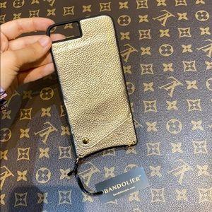 NWT Bandolier bronze case iPhone 6/7 Plus
